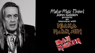 Madcap Music Review's John Golden interviews Nicko McBrain, drummer for Iron Maiden.