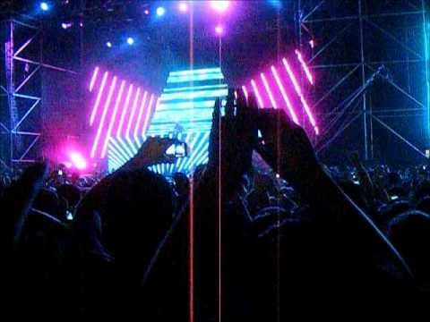David Guetta - Club Can't Handle Me (South America Summer Tour 2012 Chile)