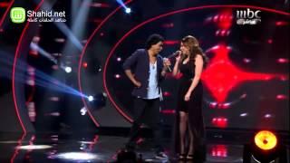 Arab Idol -محمد منير والمشتركين