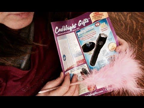 Relaxing, Flipping thru Carol Wright Gifts Mail Order Catalog ASMR Soft Spoken