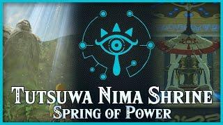 Zelda Breath of the Wild • Tutsuwa Nima Shrine • Akkala