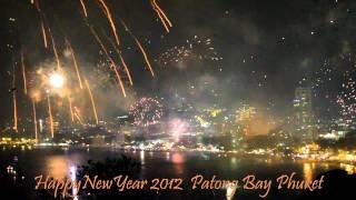 2012 New Year Fireworks Patong Phuket