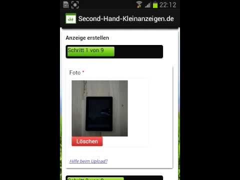 Video of Second-Hand-Kleinanzeigen.de