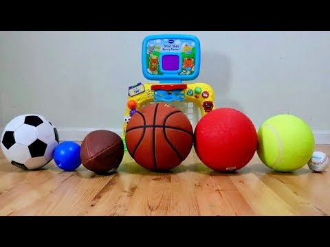 Learn the Names of Sport Ball
