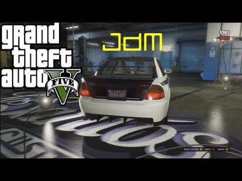 GTA 5 MY FIRST JDM CAR CUSTOMIZATION!