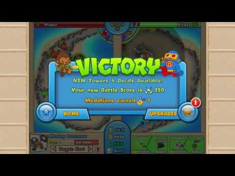 Video of Bloons TD Battles