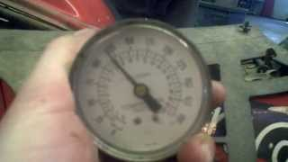 8. LOT 1380A 2000 Arctic Cat 300 4X4 Engine Compression Test