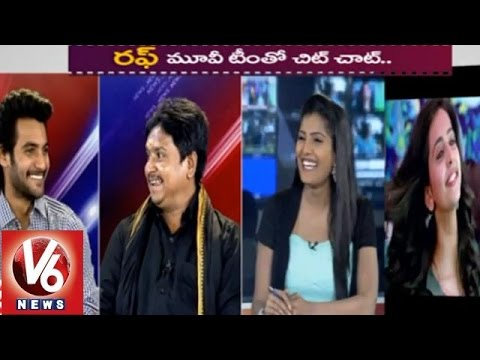 V6 special chitchat with Rough movie hero Aadi