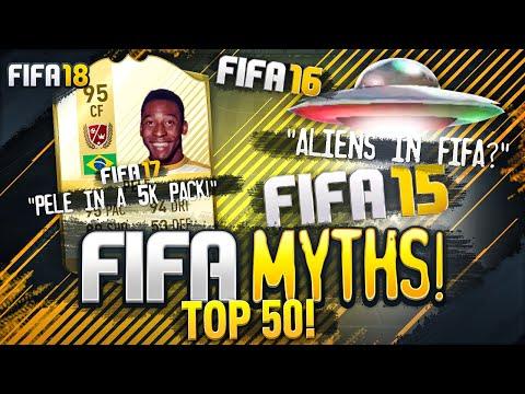 TOP 50 FIFA MYTHS! (видео)