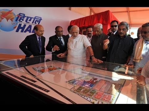 PM Modi lays the Foundation Stone for New Helicopter Manufacturing Unit in Karnataka