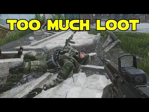 Too Much Loot! Escape From Tarkov