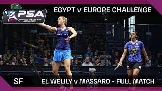 The Europe v Egypt Challenge took place during the Grasshopper Cup in May; pitting top female players from Europe and Egypt ...