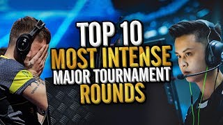 Video TOP 10 INTENSE ROUNDS IN MAJOR TOURNAMENT HISTORY! (HYPED CS:GO MOMENTS) MP3, 3GP, MP4, WEBM, AVI, FLV Juni 2019