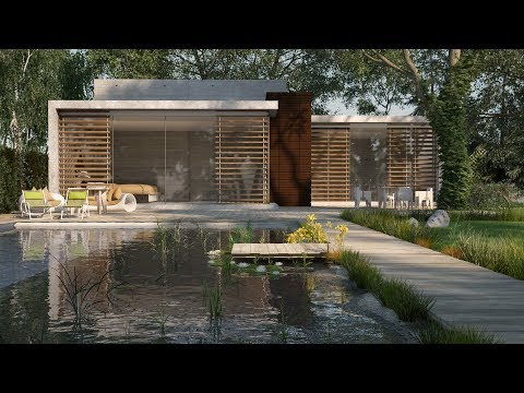 Easy Vray Exterior Lighting Tutorial - Vray Sun