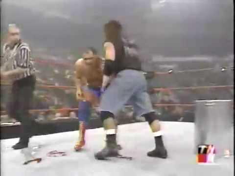 Raven vs Kurt Angle (Hardcore Match)