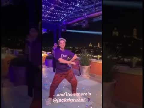 Jack Dylan Grazer Dancing (old video)