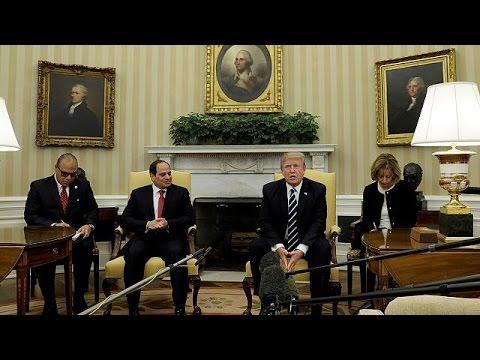Στο Λευκό Οίκο ο πρόεδρος της Αιγύπτου Αλ-Σίσι