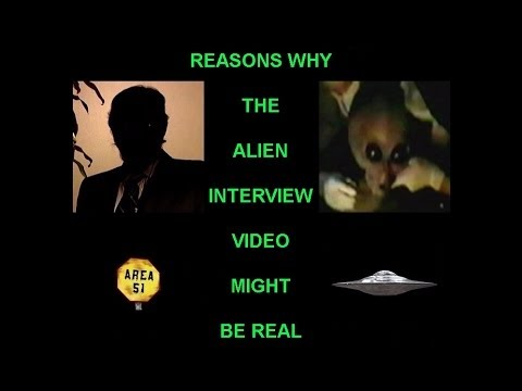 Reasons Why The Alien Interview Video Might Be Real (Kalahari 25th Anniversary Edition/2nd Edition)