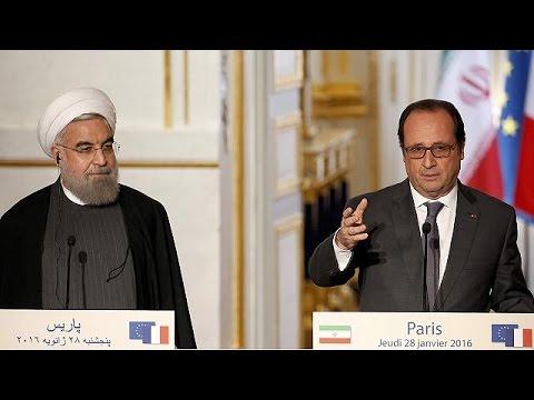 «Πρέπει να καταπολεμήσουμε την τρομοκρατία» συμφώνησαν Ολάντ – Ροχανί