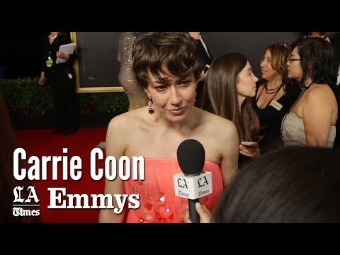 Emmys 2017: Carrie Coon Describes Her 'Fargo' Accent   Los Angeles Times