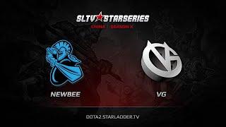 NewBee vs VG, game 1
