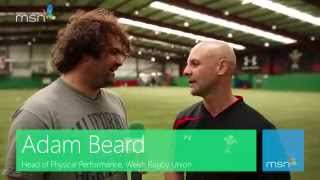 Ahead of the 2013 Six Nations Championship decider against England, MSN Sport went to the Welsh Rugby Union Centre of ...