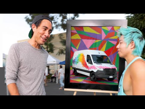 Tricking ZHC with an Art Illusion #shorts