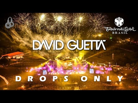[Drops Only] EPIC🔥 David Guetta - Tomorrowland Brasil 2015