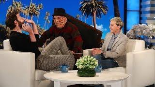 Video John Krasinski Gets a Scare on Ellen's Street MP3, 3GP, MP4, WEBM, AVI, FLV Oktober 2018