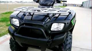 8. Review: 2012 Kawasaki Brute Force 650 SRA Super Black!