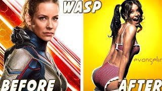 Video Ant-Man and the Wasp ★ Before And After MP3, 3GP, MP4, WEBM, AVI, FLV Agustus 2018