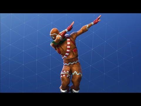 100 Kills As The Ginger Bread Man (Best Fortnite Battle Royale)