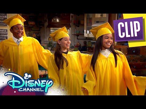 Goodbye Middle School 🎓| Raven's Home | Disney Channel