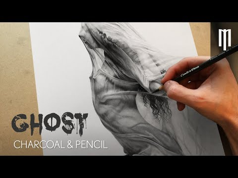 Realistic Pencil Drawing Female Body