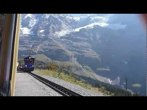 Jungfraubahn Wengen Kleinen Scheidegg | RhB SBB Swiss Train | Swiss Rack Train Jungfraubahnen