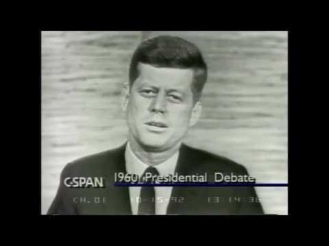 John F. Kennedy vs Richard Nixon - Second Presidential Debate 1960