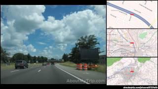 Troutville (VA) United States  city images : Roy Rd (Troutville, VA) to Luck Ave SE (Virginia) via Roanoke