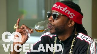 2 Chainz Drinks a $5,000 Bottle of Wine | Most Expensivest | VICELAND & GQ