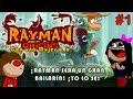 Rayman Origins | CON UNA MUJER o_o | Pervirtiendo a RAYMAN D: