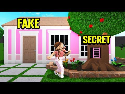 I Found Baby Hyper's Girlfriend's SECRET House! (Roblox Bloxburg)