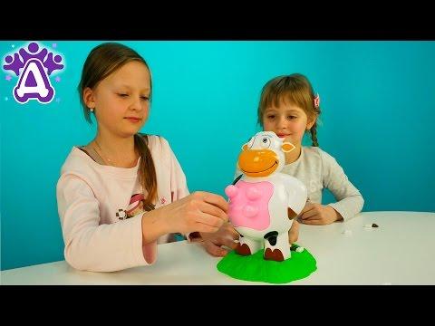 Игры для детей Корова Silly Moo. Видео для детей.Games for kids Cow Silly Moo. Videos for children. (видео)