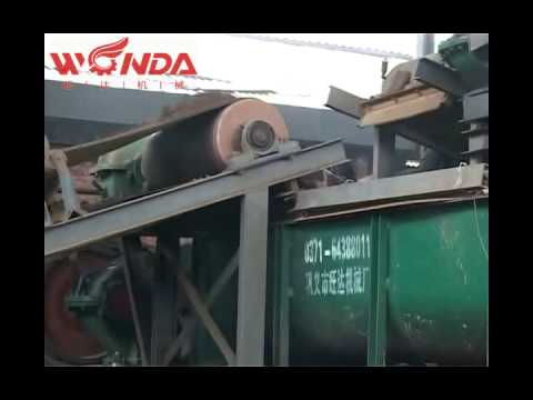Tunnel Brick Kilns production line Wangda brick setting machine