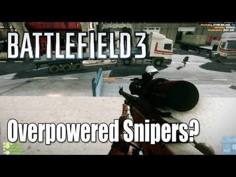 BF3 Sniper Patch - Hey guys. Today's video, I talk about the recent changes to the Recon's bolt action rifles. Many believed they would become overpowered and excel in all situ...
