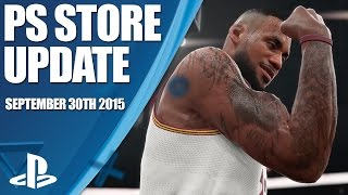 PlayStation Store Highlights - 30th September 2015
