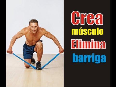 Vídeo tutorial rutina de ejercicios para ganar masa muscular y perder peso rapido