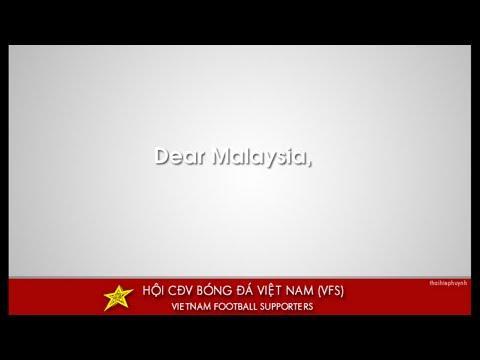 Dear Malaysia, we are good friends! :)