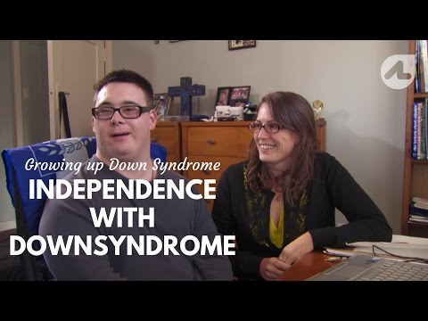 Watch video Independence with Down Syndrome