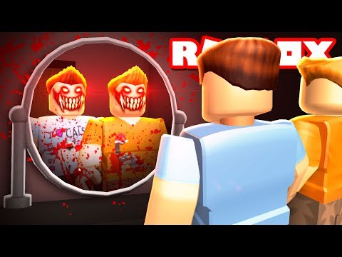 Roblox Adventures - DON'T LOOK INTO THE MIRROR IN ROBLOX! (Bloody Mary in Roblox) (видео)