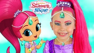 Video Shimmer and Shine Kids Makeup & Dresses & Surprise Toys For Kids Pretend Playing with Toys and Doll MP3, 3GP, MP4, WEBM, AVI, FLV Juni 2018