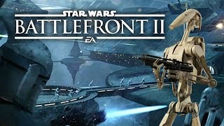 Star Wars Battlefront 2 HUGE News! Classes Revealed, Playable Droids, Kamino Map, Heroes and More!